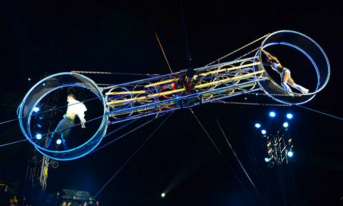 Circus Zyair - Hemel Hempstead: Circus Zyair: Two (£18) or Four (£29) Tickets Plus Popcorn (Up to 61% Off)