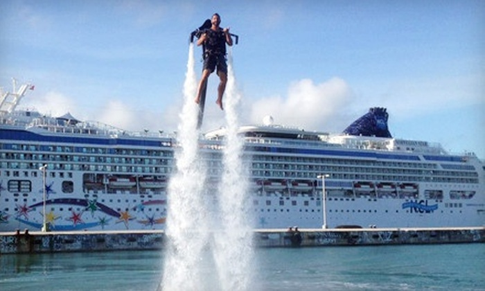 Rocketman - Multiple Locations: $135 for 25-Minute Water-Propelled Jet-Pack Experience from Rocketman ($250 Value)