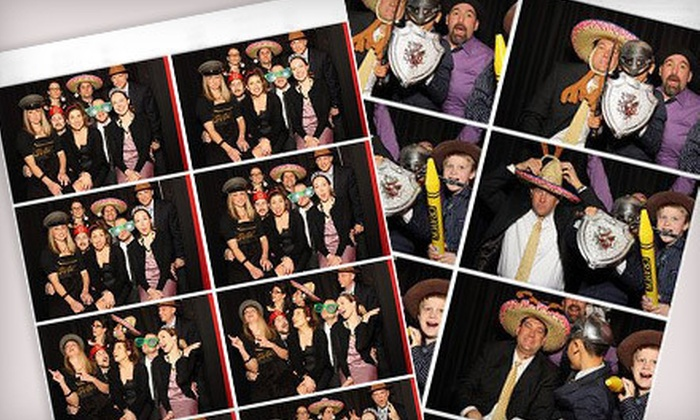 Motor City Photo Booth - Detroit: $299 for a Three-Hour Photo- and Video-Booth Rental from Motor City Photo Booth ($750 Value)