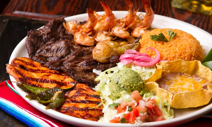 Tacos & Tequila Cantina Grill - Matthews: Upscale Mexican FoodatTacos & Tequila Cantina Grill (50%Off). Two Options Available.