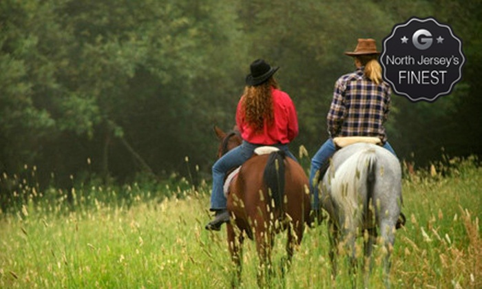 Spring Valley Equestrian Center - Fredon: Horseback Riding or Private Lessons at Spring Valley Equestrian Center (Up to 62% Off). Three Options Available.