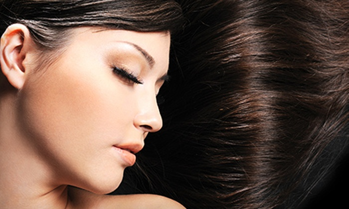 Hair OSH - Midtown South Central: Japanese or Brazilian Hair-Straightening Treatment at Hair OSH (Up to 56% Off)