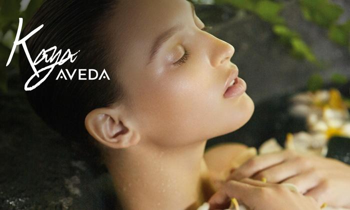 Kaya Aveda Salon Spa - New York: Energizing Facial with Optional Eye Treatment or Plant Peel, or Spa Facial at Kaya Aveda Salon (Up to 44%Off)