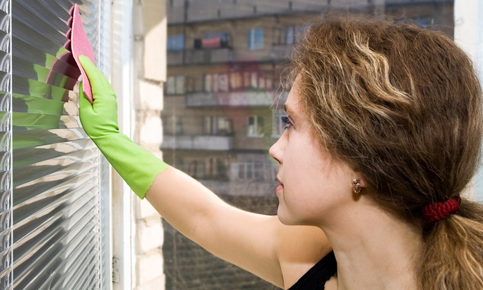 Budget Cleaning - Atwater: Ultrasonic Cleaning for Five or Eight Window Blinds from Budget Cleaning (Up to 55% Off)
