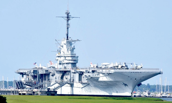Patriots Point Naval & Maritime Museum - Patriots Point: $18 for a Patriots Point Naval & Maritime Museum Visit for Two (Up to $36 Value)