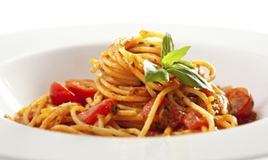 Trattoria Amici 4: Italienisches 3-Gänge-Mittagsmenü nach Wahl für 2 Personen in der Trattoria Amici 4