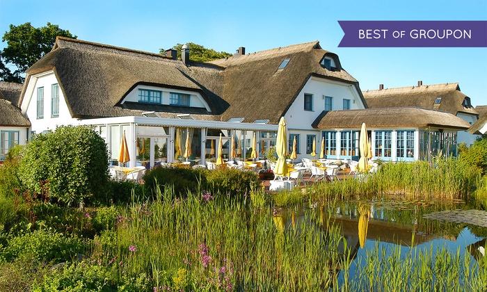 Hotel Wreecher Hof - Putbus: Südost-Rügen: 3-4 od. 6 Tage für Zwei mit Frühstück und 1x 3-Gänge-Dinner im 4* Hotel Wreecher Hof