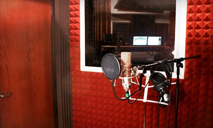 Metro 37 Recording Studio - Rochester: Two Karaoke Tracks or a 5- or 10-Hour Audio-Recording Session at Metro 37 Recording Studio (Up to 55% Off)
