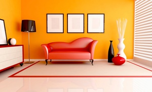 Full Service Pros Painting: Interior Painting for One, Two or Three 12'x15' Rooms from Full Service Pros Painting (Up to 75% Off)
