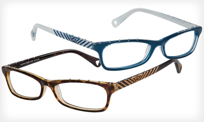 Hard Rock 2 Frames: $39 for Hard Rock 2 Optical Frames by Betsey Johnson ($225 List Price). Two Colors Available.
