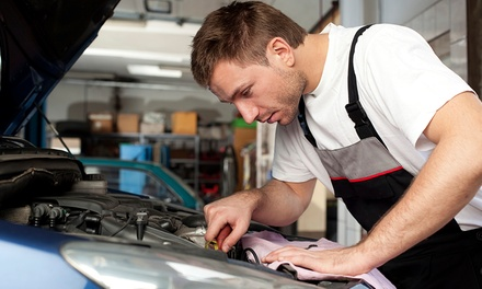 Car Air Conditioning Service and Re-Gas at Pangbourne Garage (50% Off)