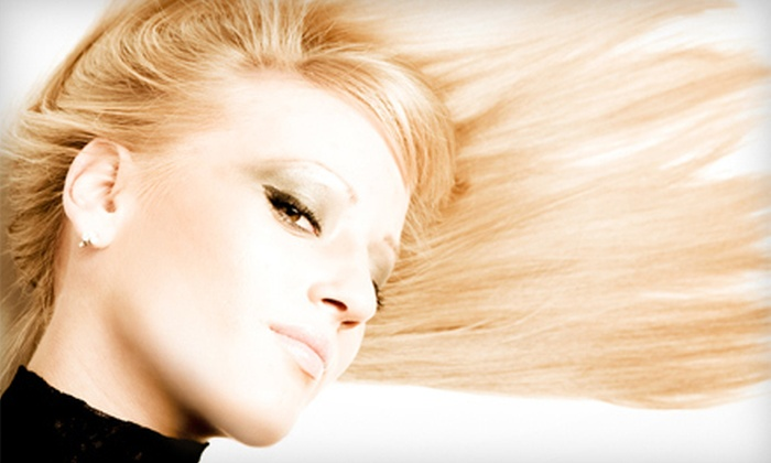 Classic Images Hair Design - Livermore: Cut with Optional Conditioning, Color, or Highlights, or Brazilian Blowout at Classic Images Hair Design (Up to 61% Off)