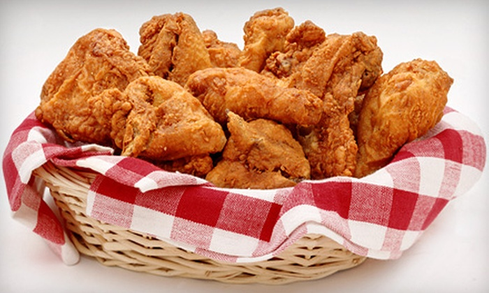Chuck's Famous Chicken & Seafood - Hampton Roads Center: Family Meal or Two Vouchers at Chuck's Famous Chicken & Seafood (50% Off). Four Options Available.