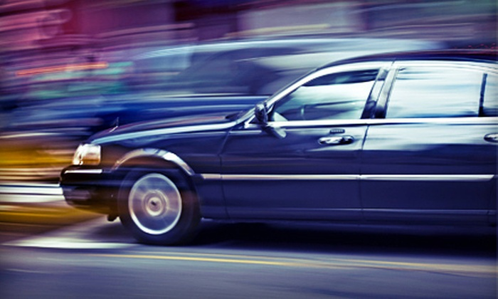 A Transporter Limo - Fremont: $20 Toward Car and Limo Rental