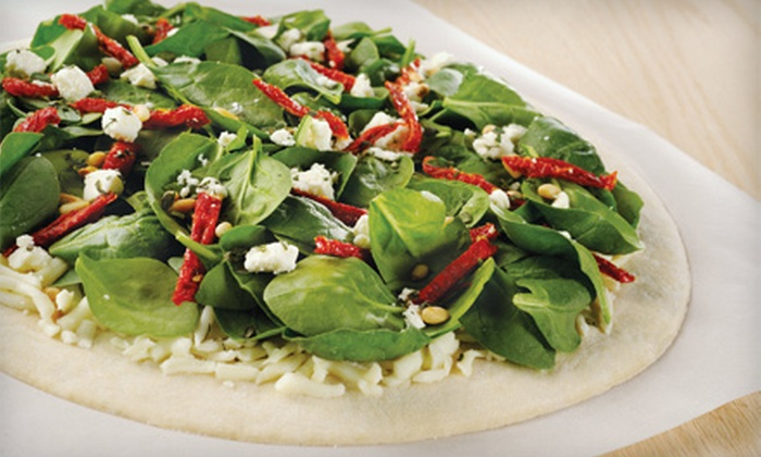 Artisan Pizza Co - Multiple Locations: $15 for $30 Worth of Bake-at-Home Pizzas and Farm-Fresh Salads at Artisan Pizza Co