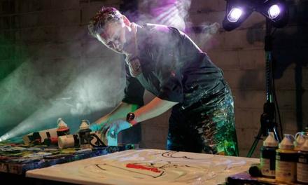 Schilderworkshop van 3 uur door Geoffrey Wijn in Roosendaal