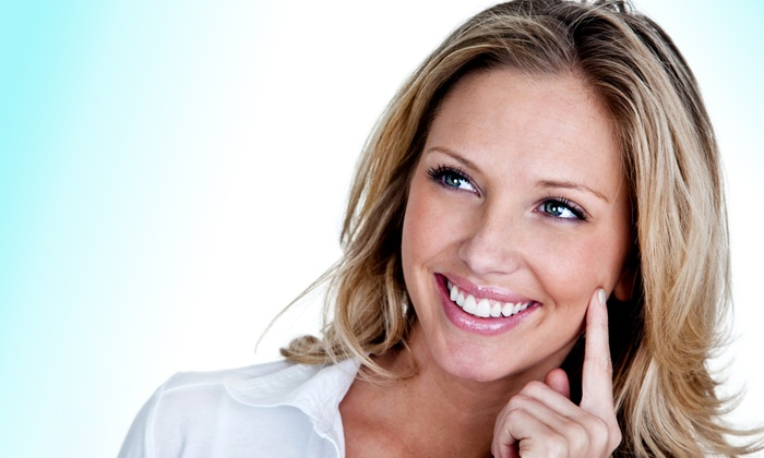 Horizons Dentistry - Rancho Cucamonga: Teeth-Whitening Package with Exam, X-rays, and Two or Four Tubes of Whitening Gel at Horizons Dentistry (Up to 76% Off)