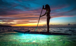 Miami Beach Paddleboard: LED Paddleboard Glow Sunset Tour for One, Two or Four from Miami Beach Paddleboard (Up to 60% Off)