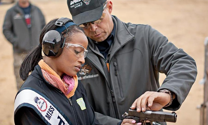 Big Boar Tactical - CHL at Raphael's: Concealed-Handgun-License Course with Optional Handgun Course for One or Two at Big Boar Tactical (Up to 68% Off)