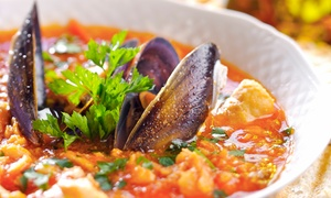 Pasta Cucina: Italian Dinners for Two or Four with Appetizers and Wine at Pasta Cucina (Up to 46% Off). Four Options Available.