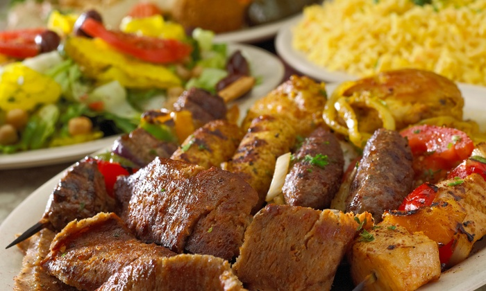 Holy Land - Audubon Park - Northeast Minneapolis: $16 for Two Groupons, Each Good for $14 Worth of Mediterranean Deli Food at Holy Land ($28 Value)