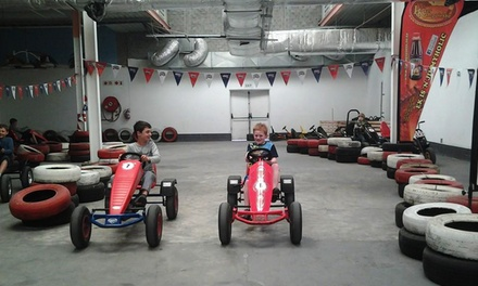 Two-Hour Pedal Go-Karting Sessions from R160 at Berg Toys South Africa (Up to 52% Off)