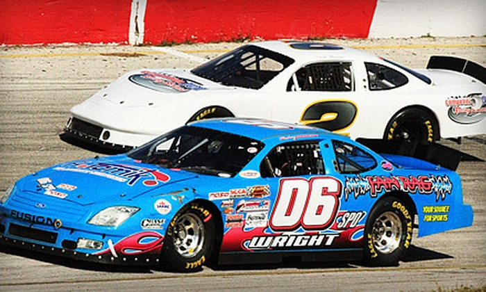 Competition 101 Racing School - Orlando Speedworld: $139 for a Half-Day Intro-to-Racing School with 15 Laps in a Stock Car at Competition 101 Racing School ($375 Value)