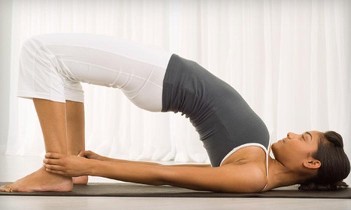 Glenmore Yoga & Wellness Center - Tuckahoe: $32 for Four Drop-In Yoga Classes at Glenmore Yoga & Wellness Center ($68 Value)