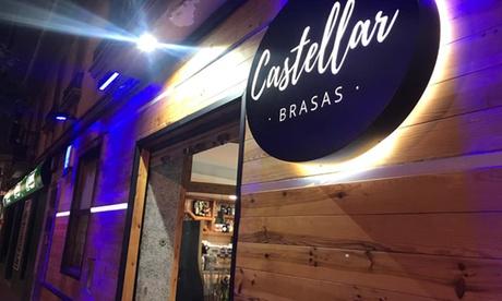 Menú en 6 pasos con bebida para 2 o 4 en Castellar Brasas (hasta 53% de descuento)