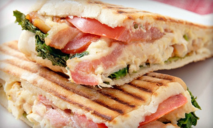 Tequesta Coffee Lounge - Tequesta: $12 for Three Sandwiches, Wraps, or Paninis with Sides at Tequesta Coffee Lounge (Up to $26.85 Value)