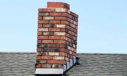 $79 for Chimney and Fireplace Cleaning with 10-Point Roof Inspection ($278 Value)