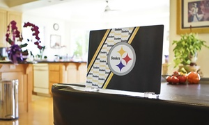 NFL Tempered Glass Cutting Board with Stand