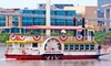 River City Star - Downtown: Riverboat Sightseeing Tour with Hot Dogs and Chips for Two or Four from River City Star (Up to 56% Off)