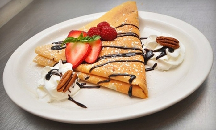 Golden Crepes - New York: $10 for $20 Worth of Crepes and Paninis at Golden Crepes
