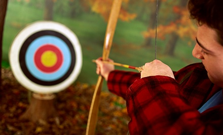 One, Two, or Three Introductory Archery Lessons at Revolution, The Off-Road Experience (Up to 49% Off)