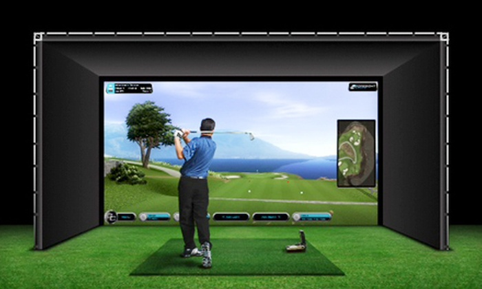 Tampa Indoor Golf - Grey Gables,West Tampa: Half-Hour Golf Lesson or Simulator Session or Simulated Round at Pebble Beach at Tampa Indoor Golf (Up to 52% Off)