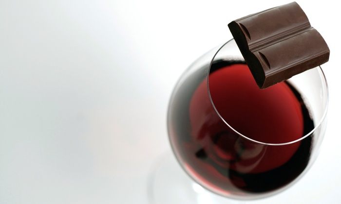 Chip'n Dipped - Huntington: Wine and Chocolate Tasting Charity Event for Two on July 20, at Chip'n Dipped (50% Off). Six Times Available.