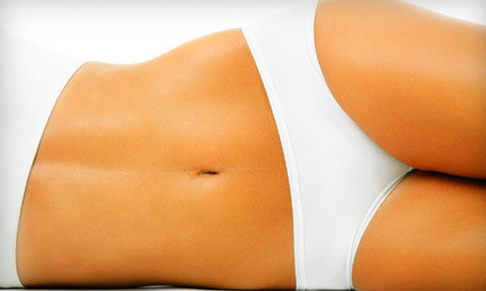 Inches-A-Weigh - Mound View: One, Three, or Six Infrared Body Wraps or Six Sessions on Inch-Loss Toning Table at Inches-A-Weigh (Up to 90% Off)
