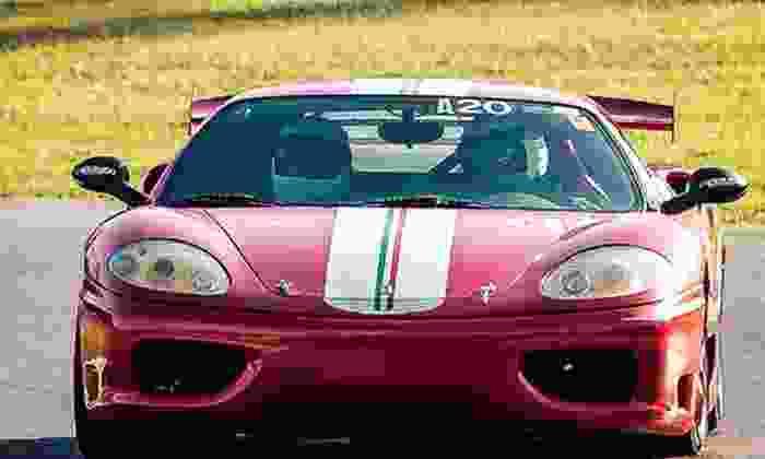 Racing Adventures - Hitchcock: FFR Cobra Spec Racer, Corvette, or Ferrari 360 Modena Driving Experiences from Racing Adventures (Half Off)