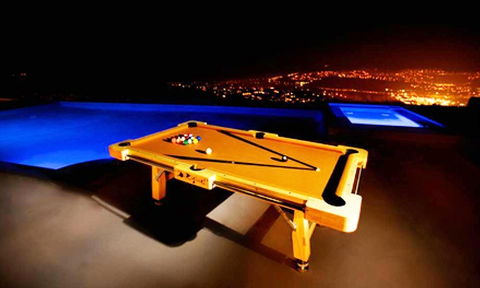 Portable Pool Table Rentals