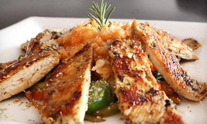 Café Bella - Logan Square: $39 for Four-Course Fusion Dinner for Two at Café Bella (Up to $89.70 Value)