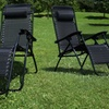 Zero Gravity Outdoor Loungers (Set of 2)