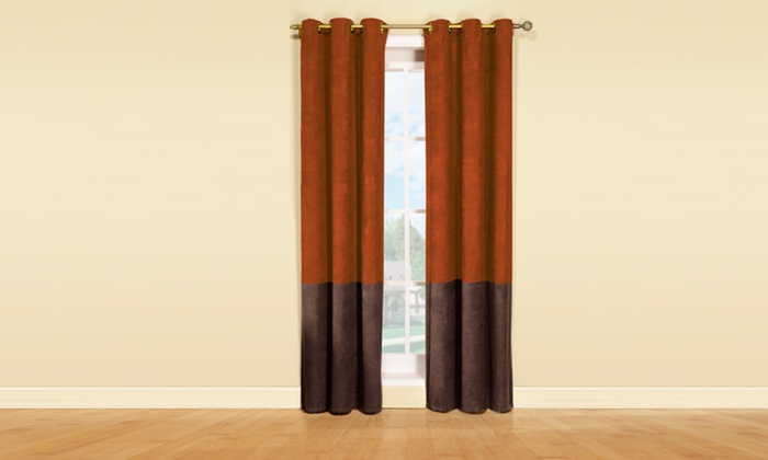Thermal Curtain Panel Pairs Groupon Goods