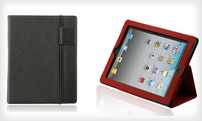 Splash Folio Case for iPad 2, 3, and 4 with Stylus and Screen Protector: $12.99 for a Splash Folio Case for iPad 2, 3, or 4 with Screen Protector ($60 List Price). Seven Colors Available.
