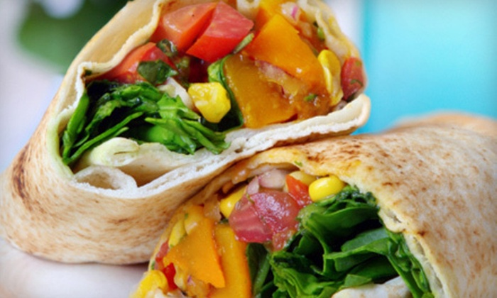 Mimi's International Cafe - Cabrillo: $10 for $20 Worth of Salads, Sandwiches, and Wraps for Two at Lunch at Mimi's International Cafe