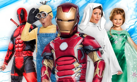 $20 for $40 Worth of Halloween Costumes, Decorations, and Accessories from Costume SuperCentre