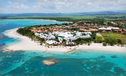 3, 4, 5, or 7 All-Inclusive Nights for Two at Grand Paradise Playa Dorada in the Dominican Republic; Incl. Taxes & Fees