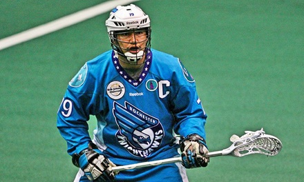 Rochester Knighthawks Lacrosse Game at Blue Cross Arena (Up to 65% Off). Two Seating Options and Three Dates Available.