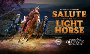 Australian Outback Spectacular: Australian Outback Spectacular - Three Course Dinner, Show & Drinks from only $69 (up to $109.99 value)