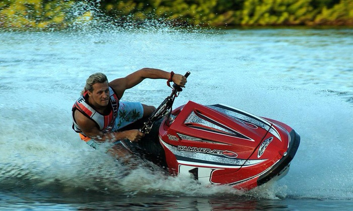 Wamiltons Customs INC - Central Industrial Park North: 25 or 50 Minutes of Flyboarding, or Watersports Rental for Up to Seven at Wamiltons Customs Inc (Up to 47% Off)